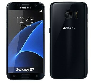 Samsung Galaxy S7 in Black Handy DUMMY Attrappe - Requisit, Präsentation, Deko