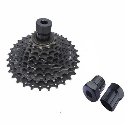 Cycle Bike Gear Cassette Freewheel Lockring Removal Tool for Shimano Black 27mm