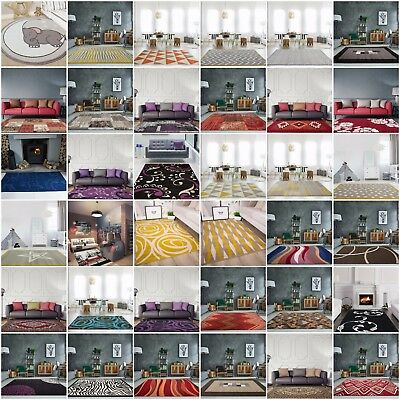 Modern Non Shed Small Large Rugs Soft Durable Trendy Traditional Living Room Rug