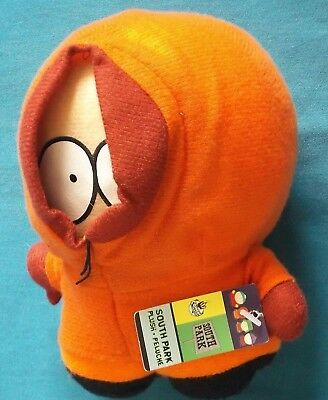 South Park Kenny Plush Soft Toy Official 2001 Comedy Central 16.5cm With Tag