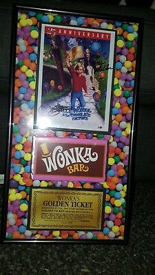 Charlie and the chocolate factory signed display