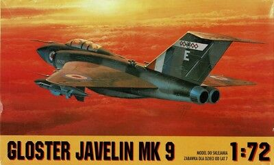 1/72 CHEMATIC (ex-FROG); Gloster Javelin Mk 9
