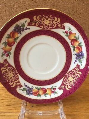 Queens Fine Bone China Saucer Balmoral Pattern