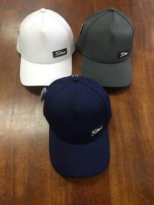 Titleist West Coast Legacy Lot Of 3 Fitted Hats Size S/M NWT NR Ret $90 Scotty