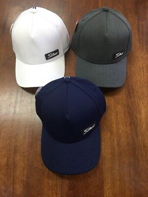 Titleist West Coast Legacy Lot Of 3 Fitted Hats Size M/L NWT NR Ret $90 Scotty