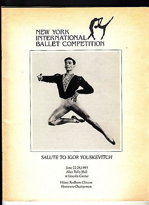 New York International Ballet Competition June 1993 Igor Youskevitch