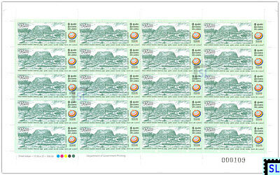 Sri Lanka Stamps 2017, UN Vesak Day, Taxila, Pakistan, Buddha, Sheetlet