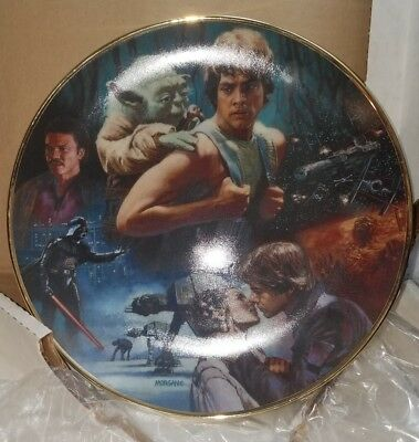 Star Wars Trilogy The Empire Strikes Back Limited Edition Collector Plate