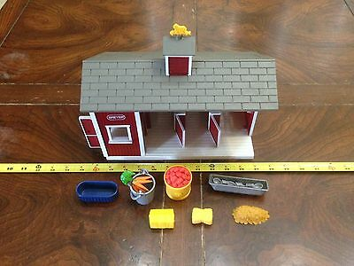 Breyer RED STABLE & Assorted STABLE STUFFS! Value Veritus...