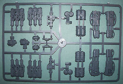 Space Marine Land Raider Crusader/Redeemer Gun sprue