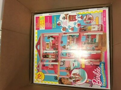 New Mattel Barbie Dream House 3 story plus furniture - elevator -pool