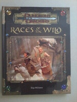 Races of the Wild (D&D 3.5)