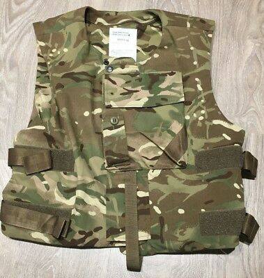 Genuine British Army Issue Body Armour Cover / ECBA in MTP - Size 180/116