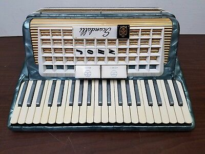 Vintage Scandalli L982/89 41/120 Intermediate Size Piano Accordion
