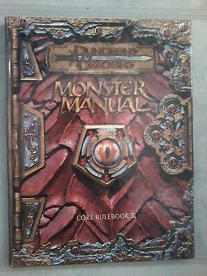 Monster Manual core rulebook 3 0786915528
