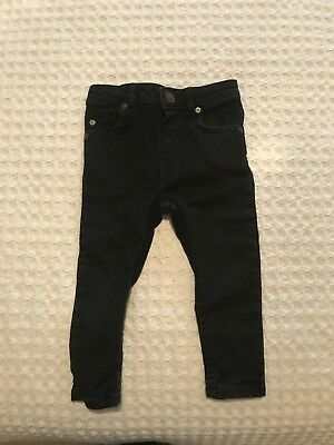 18-24 Months River Island Black Skinny Jeans