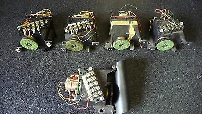 seeburg remote volume control receivers ( lot of 5 )