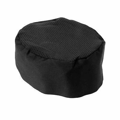 IROCH Chefs Hat Breathable Mesh Top Skull CapChat Chef Hat Black Adjustable S...