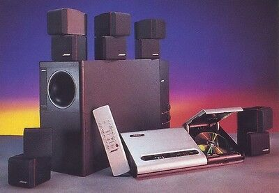 bose lifestyle 12 home theatre system fully working