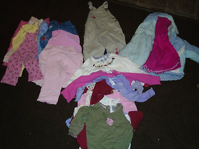 Baby Girl size 18 month Winter Clothes Lot Outfits
