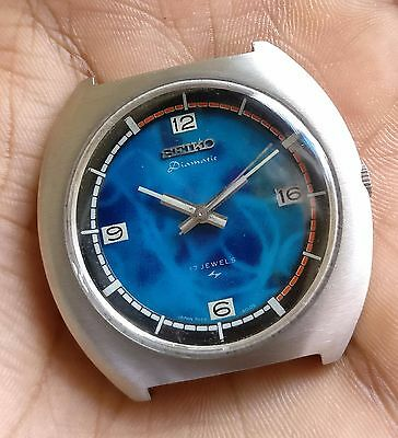 Vintage Seiko DIAMATIC Automatic watch OLD ANTIQUE~UNUSUAL ~EXTREMELY RARE