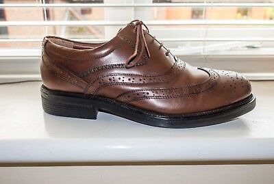 Mens Shoes Brown Brogues Used for 1940s Re-enactments  UK size 8