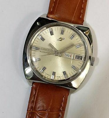 RARE Vintage ENICAR AUTOMATIC WATCH SWISS MADE OLD ANTIQUE( ORIGINAL DIAL)