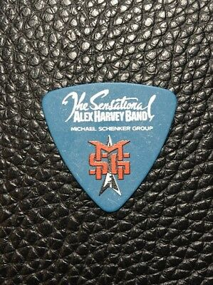 Guitar Pick - Michael Schenker Group - Msg - Real Custom Tour Guitar Pick