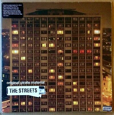 THE STREETS Original Pirate Material 2x vinyl with Explicit Content sticker UK
