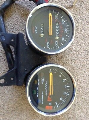 Honda XBR500 CLOCKS speedo etc