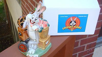 MIB Looney Tunes Bugs Bunny Beer Stein - 1st in Series  Mint Box & Lapel-Hat Pin