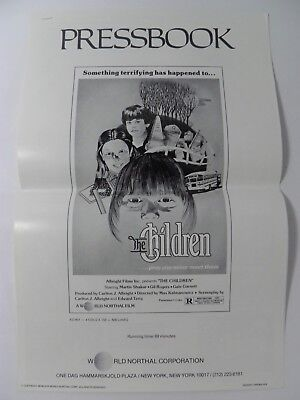 The Children Pressbook Pb Drive-In Horror (1980)