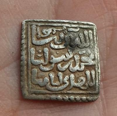 *LORACWIN* Very Nice Square Silver Dirham, Almohade. Al Andalus Mint 545-635 H.