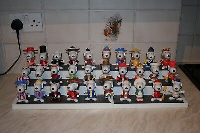 Happy Meal Toys 1999 Complete Set 30 Snoopy Around The World Figures  McDonald's