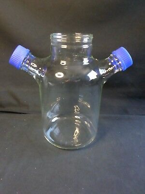 BELLCO GLASS 3000mL 3L MicroCarrier Cell Culture Spinner Flask Only 1965-13000