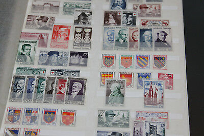 FRANCE - 1950's -UNMOUNTED MINT COLLECTION IN STOCKSHEETS