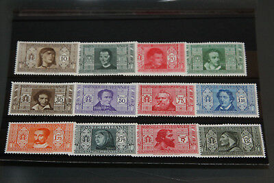 Italy - 1932 - Dante Issue - Complete Set - Mint