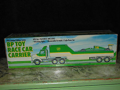 BP Toy Race Car Carrier 1993 Limited Edition Car Carrier