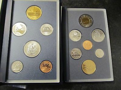 1996-1997 Specimen Sets (two sets)