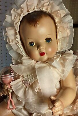 "RARE Big beautiful 26"" Composition and Cloth Vintage Sayco Baby Doll"