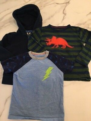 Lot of Mini Boden and Crewcuts tops boys 4-5