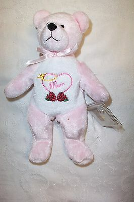 Holy Bears Nurture The God Bless Mom Pink Bear  NWT Mother's Day Bear