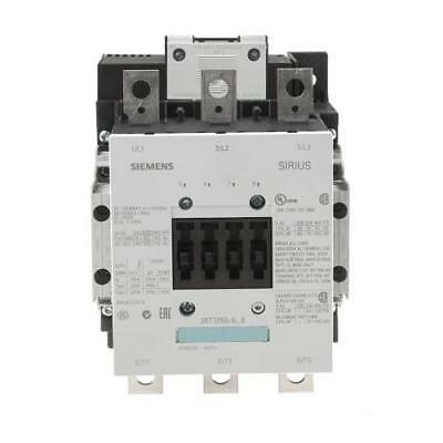 1 x Sirius Classic 3RT1 3 Pole Contactor, 185 A (AC3), 104kW (AC3), 240V ac Coil