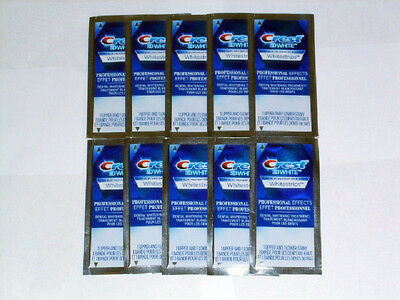 CREST 3D PROFESSIONAL EFFECTS 20 STRIPS/10 POUCHES (*NEW* Original)