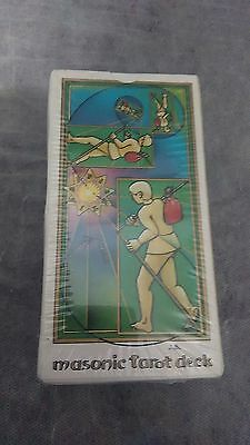 Masonic Tarot Deck_JEAN BEAUCHARD 78 cartas_Edit:France 1987_Very Rare new