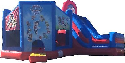 Paw Patrol Slide Jumping Castle Hire