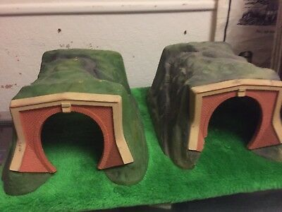 Vintage Hornby Train  Tunnels X 2
