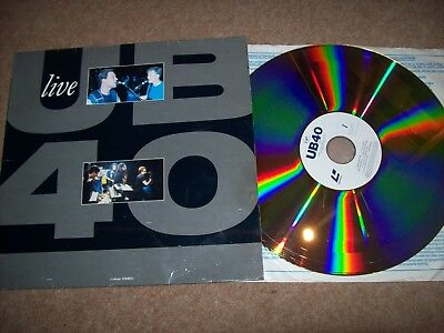 ub40 - live at hammersmith odeon...1994 vigin laser disc....