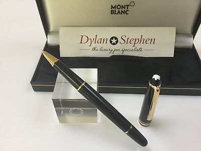 montblanc meisterstuck classique 163 gold line rollerball pen RRP £320 + box