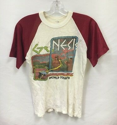 Vintage Genesis and Then There Were Three 1978 Tour T-shirt Size Large Band Tee